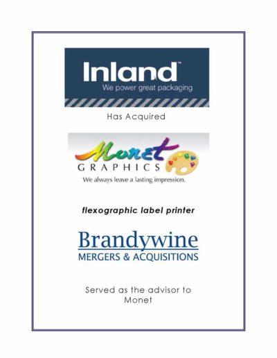 Inland acquires Monet Graphics
